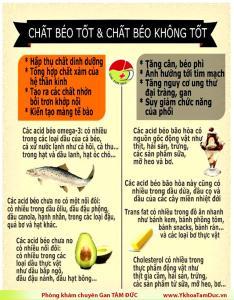 infographic chat beo tot va chat beo khong tot phong kham gan tam duc