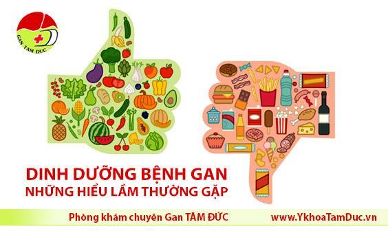 dinh dưỡng cho người bệnh gan Những quan niệm ăn uống sai lầm với người bệnh gan dinh duong cho nguoi benh gan