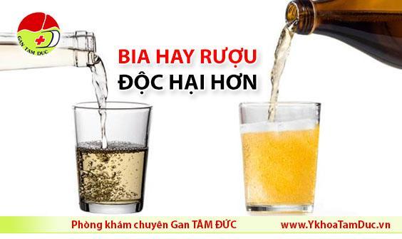 Bia hay rượu độc hại hơn