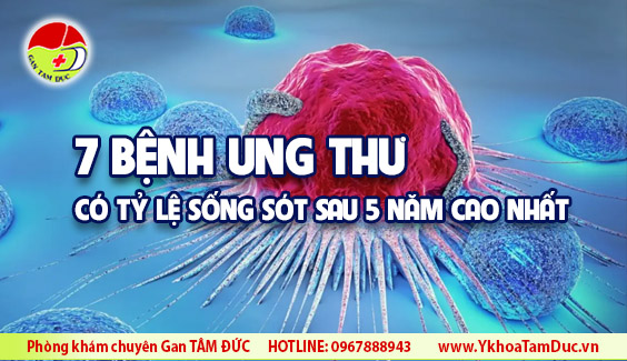 7 benh ung thu co ty le song sot sau 5 nam cao nhat