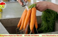 Lợi ích sức khỏe của cà rốt