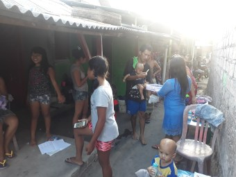 YKPA helping in slum