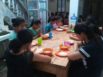 YKPA kids pray their religion