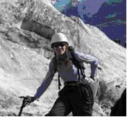 """Даша Матвеева - """"я не девушка, я - инструктор"""" - фраза, сказанная одному из одесских альпинистов в Безенги в ответ на грязные домогательства."""