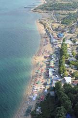 пляж Учкуевка с воздуха. Фото Капитана Воронина