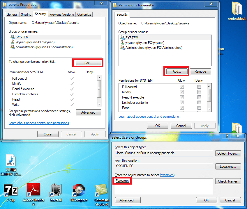 Windows 7 - Cannot connect to network drive (2/2)