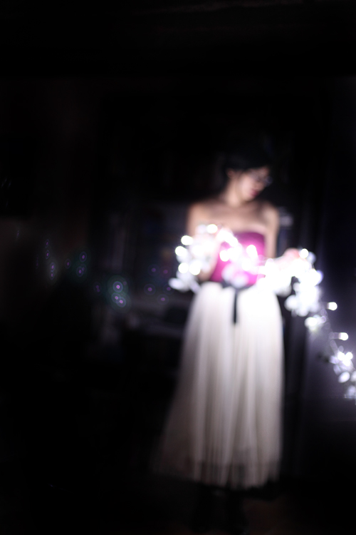 ~ Lumières de Noël et tutu de princesse ~