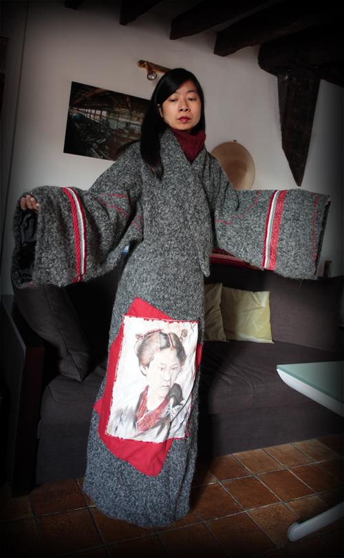 ~ Manteau Kimono de Christine Nietche ~