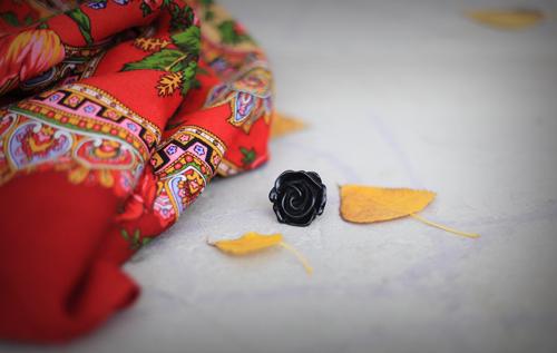 ~ Un foulard Comtesse Sofia par une douce journée d'automne ~