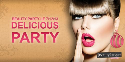 ~ Besoin de se faire chouchouter avant Noël ? La Beauty Party est pour toi ! ~