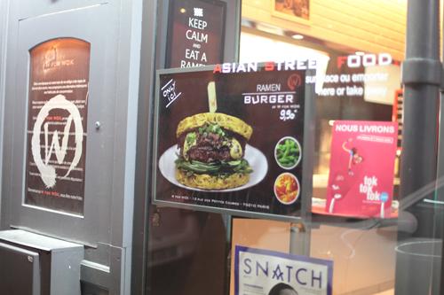 ~ Un wok ou un ramen burger ? Les deux !!! ~
