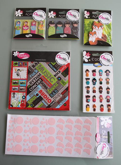 ~ Stickers Maildor trop mignons chez Créavea !!! ~