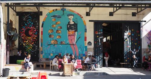~ Street art à la Réserve Malakoff jusqu'au 30 octobre 2016 ~