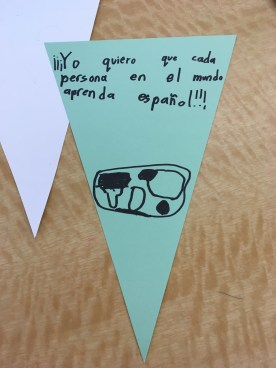 """""""I wish that every person in the world learns Spanish"""" - had to like this one since I know who made it."""