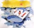 aquarelle sur papier: 30 x 40 cm