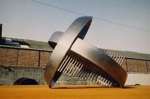 acier, 80 x 80 x 80 cm