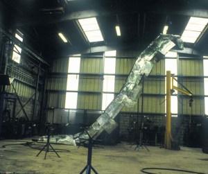 acier, 700 x 250 x 500 cm