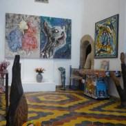 "Exposition ""aller"" avec les Marocains à la galerie Damgaard en 2016"