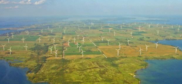 Wolfe Island wind