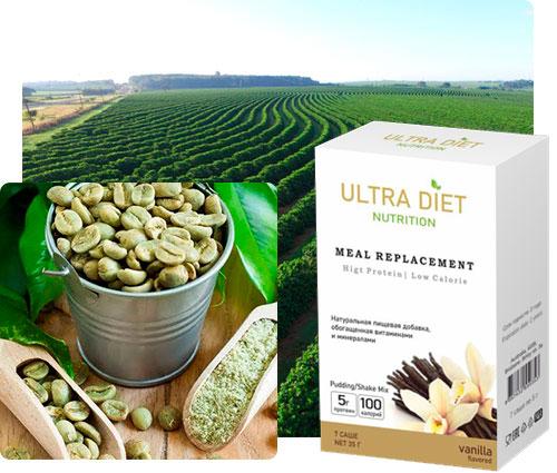 Жидкий зеленый кофе Ultra Diet