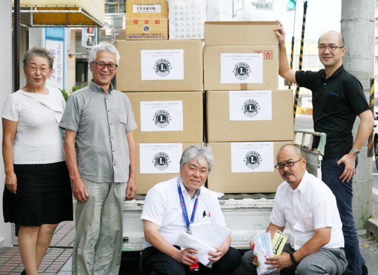 西日本豪雨災害支援タオル