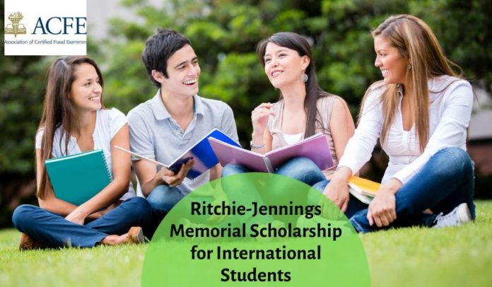 Image result for ACFE Ritchie-Jennings Memorial funding for International Students, USA