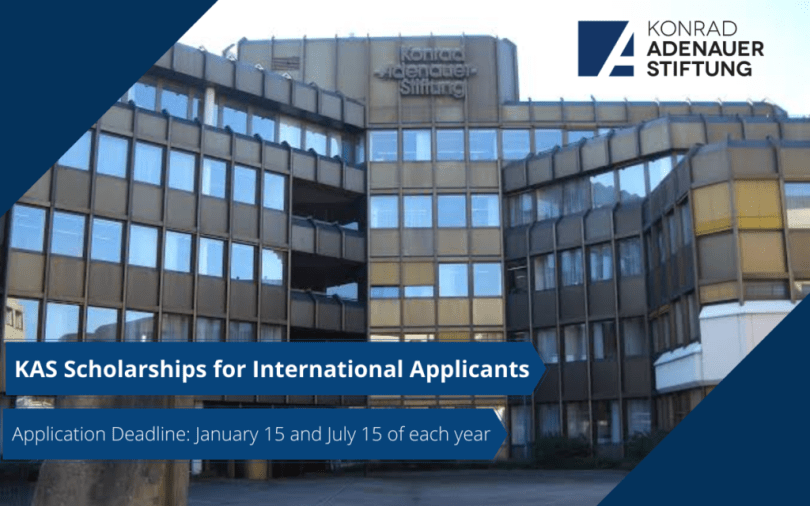 Image result for Konrad-Adenauer-Stiftung Scholarships for International Applicants in Germany, 2020
