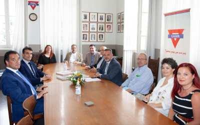 Επίσκεψη του Υπουργού Ανάπτυξης και Επενδύσεων, Άδωνι Γεωργιάδη, στη Χ.Α.Ν.Θ.