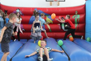 childrens party bouncy castle north devon ymca