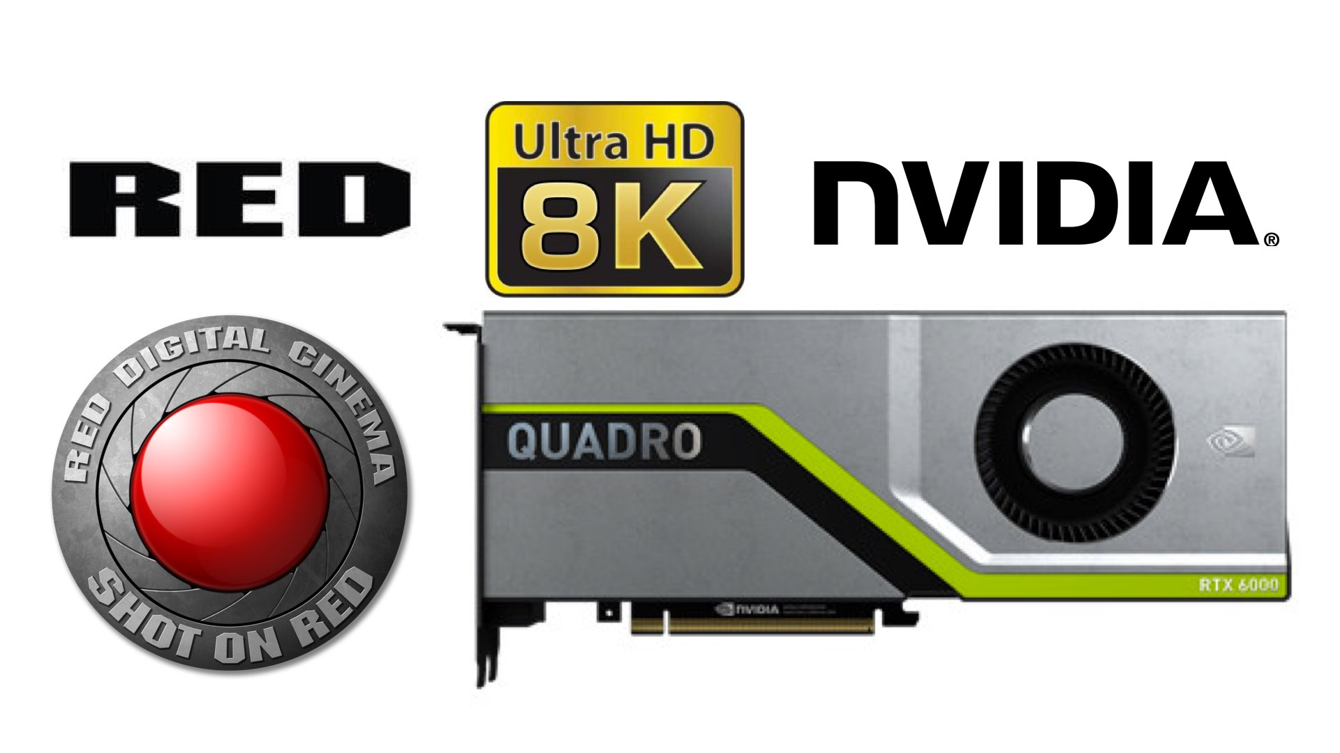 NVIDIA $10,000 Quadro RTX Graphic Card to Boost RED 8K Editing for