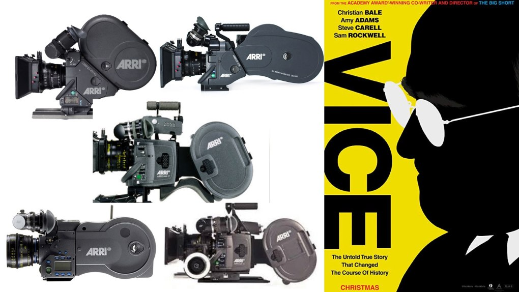 Vice - Arricam LT and Arricam ST and Arriflex 235 and Arriflex 416 and Arriflex 435