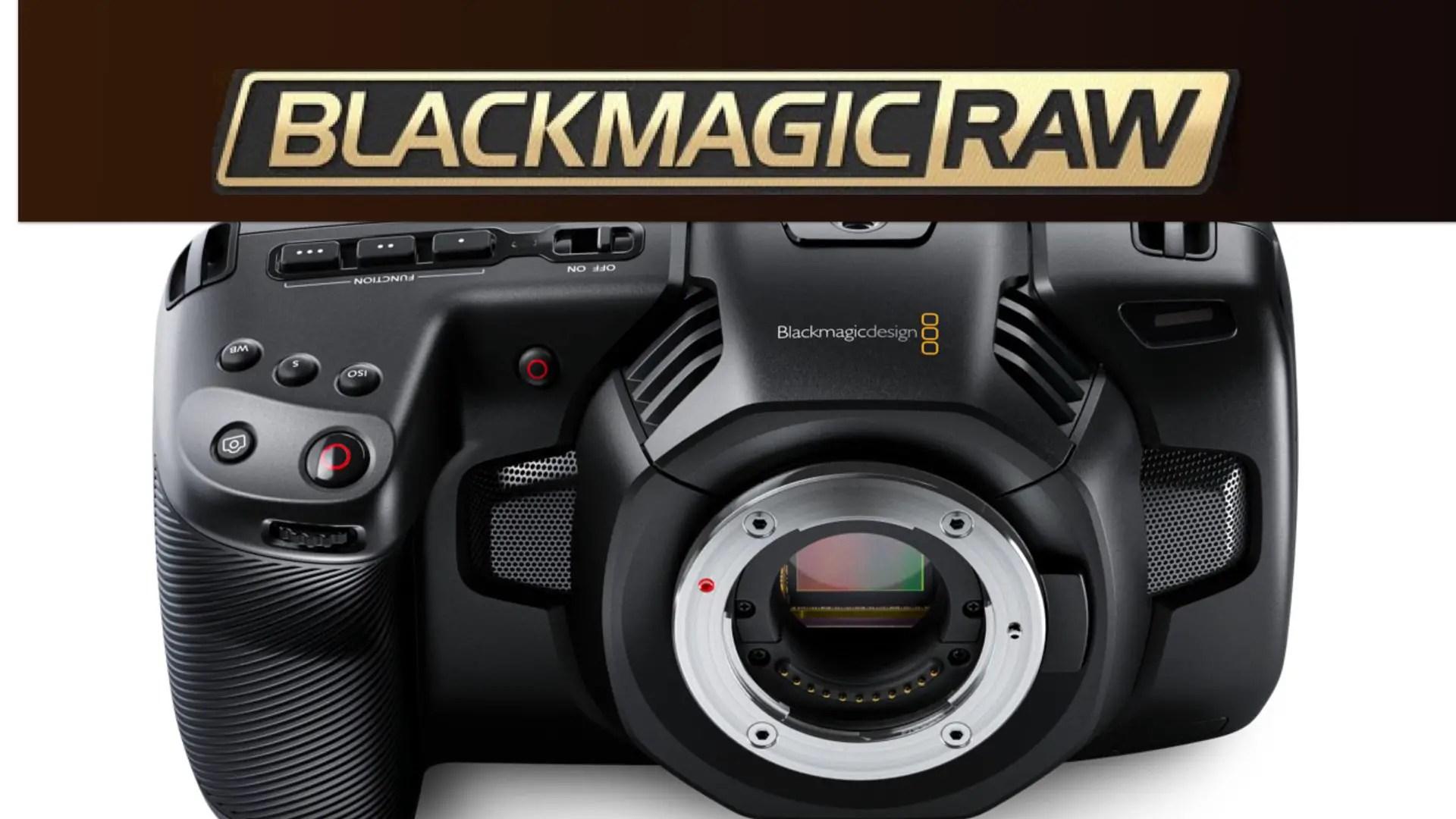 Blackmagic RAW (BRAW) has Arrived to the Pocket Cinema