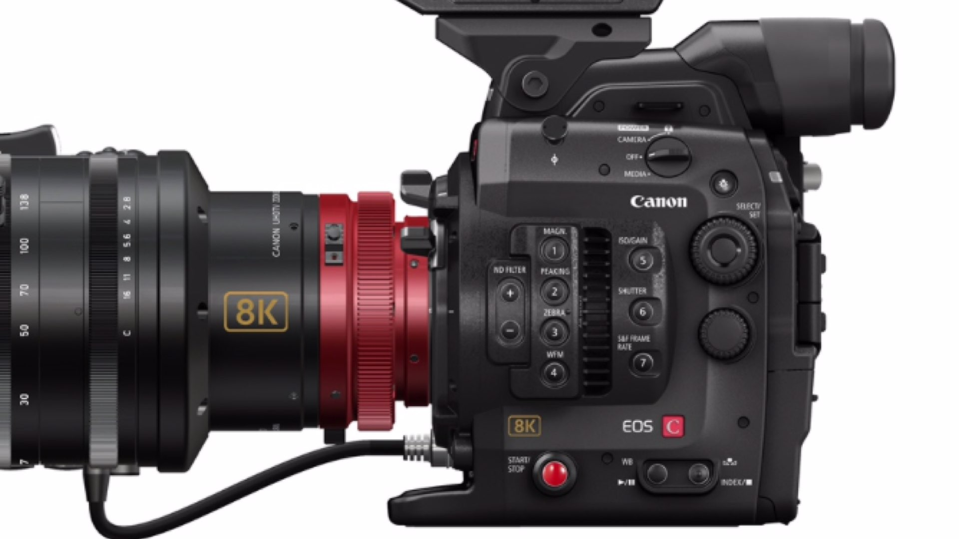 Canon C300 Mark III 8K Full Frame: The NAB Show 2019's