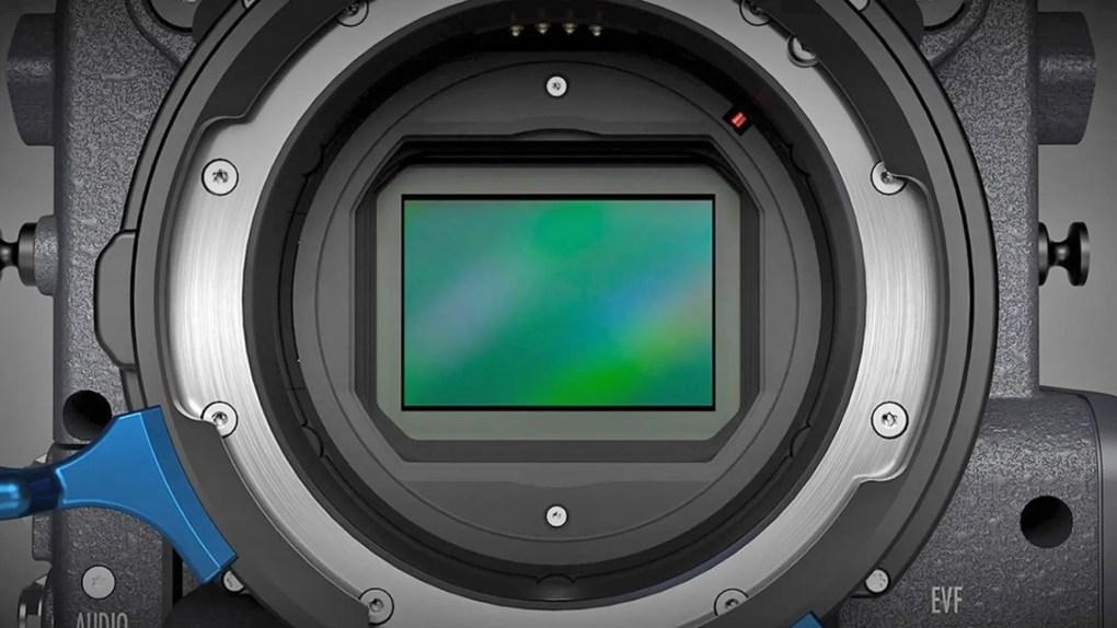 Large Format sensor (ALEXA LF)