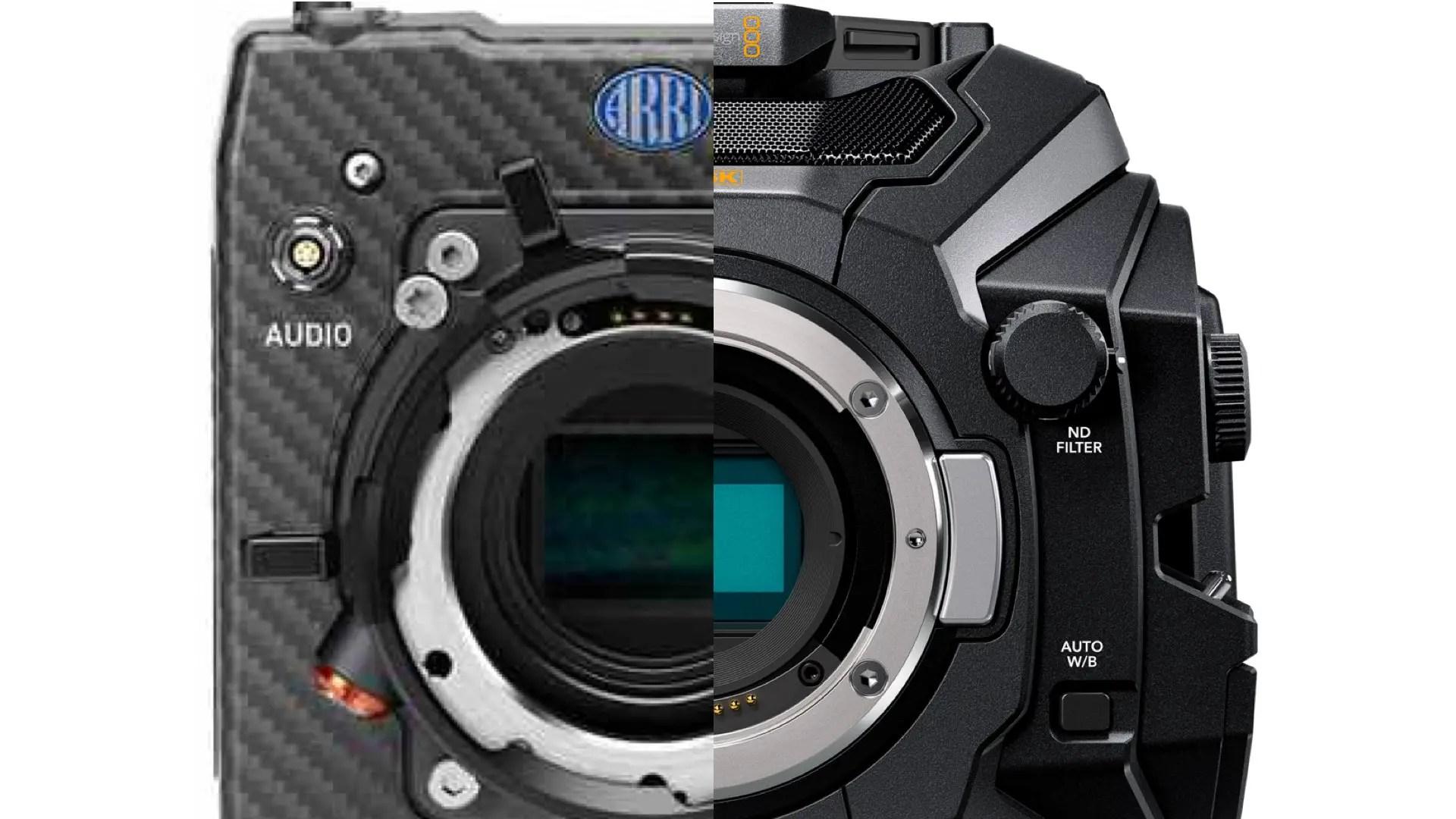 Blackmagic URSA Mini Pro and ARRI ALEXA Mini: The Optimal On