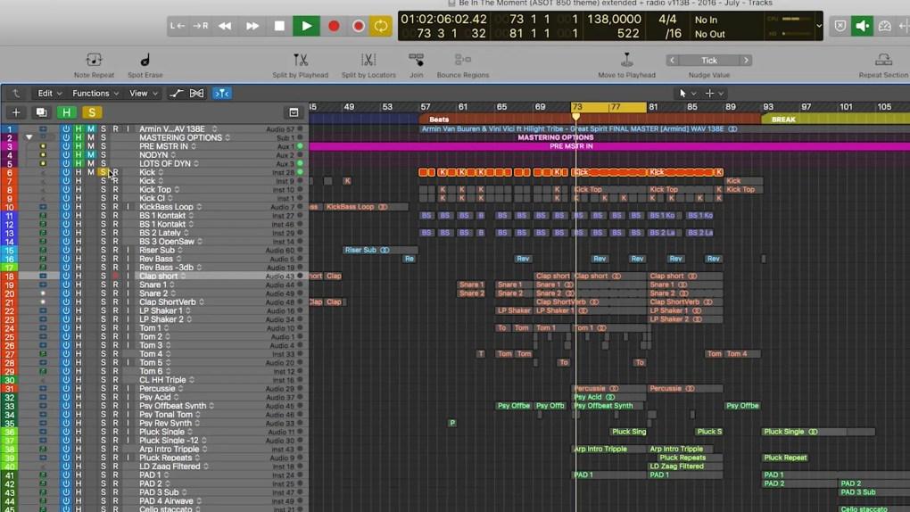 Armin van Buuren Teaches Dance Music: Logic Pro with Armin van Buuren track