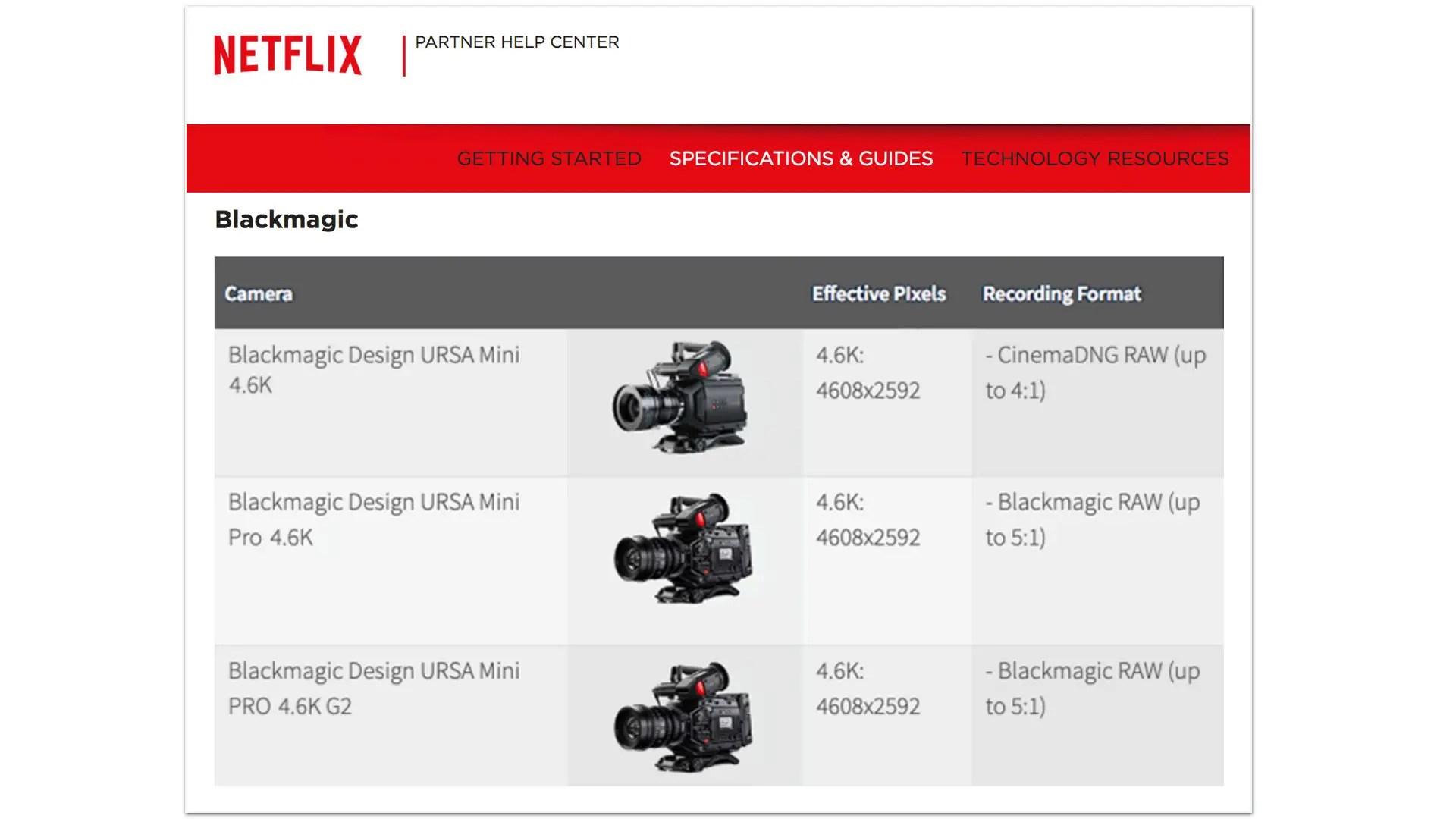 Blackmagic Design Announces Camera 6 9 3 Update For The Ursa Mini Pro 4 6k Y M Cinema News Insights On Digital Cinema