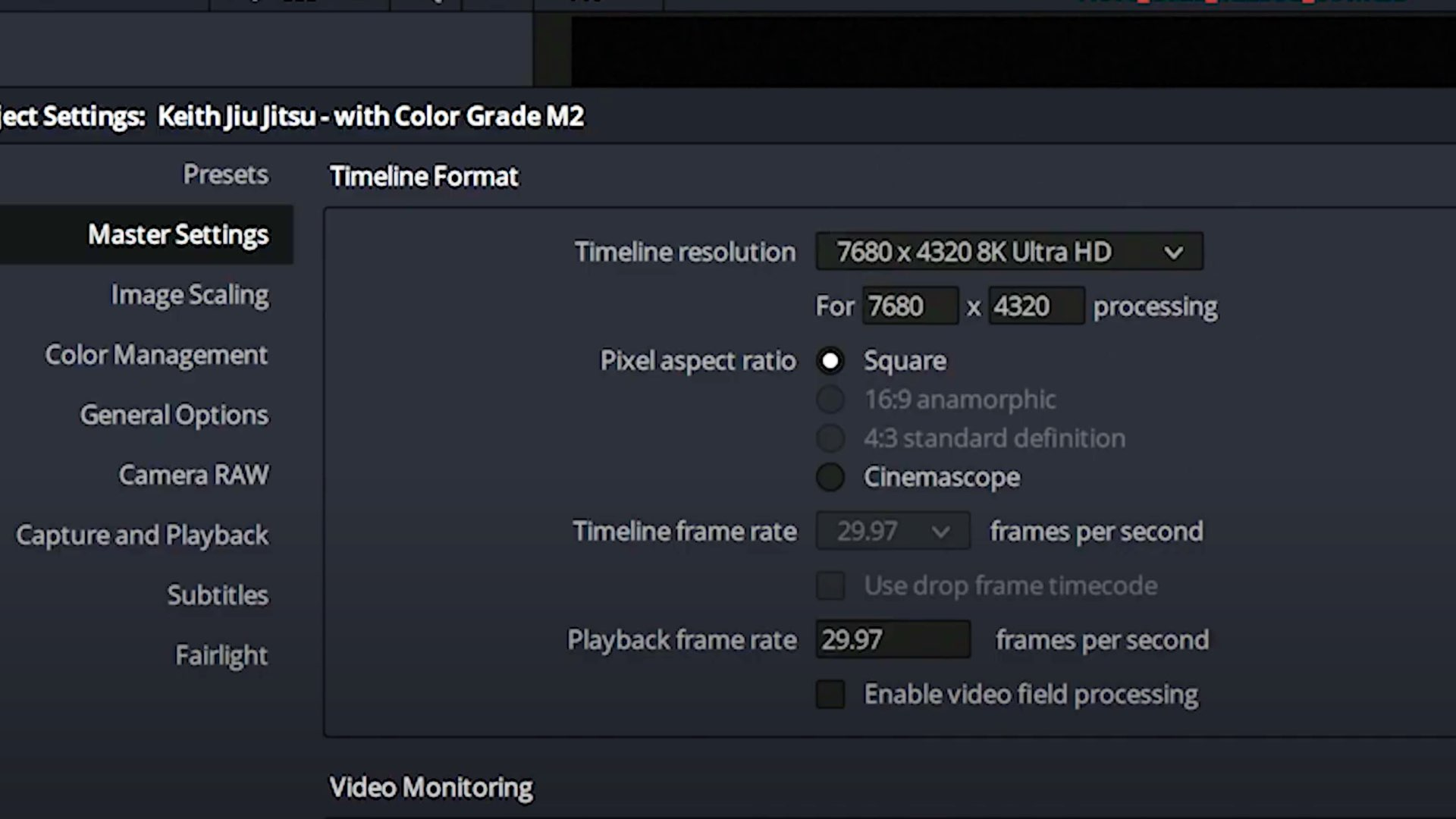 NVIDIA educational video 8K RAW