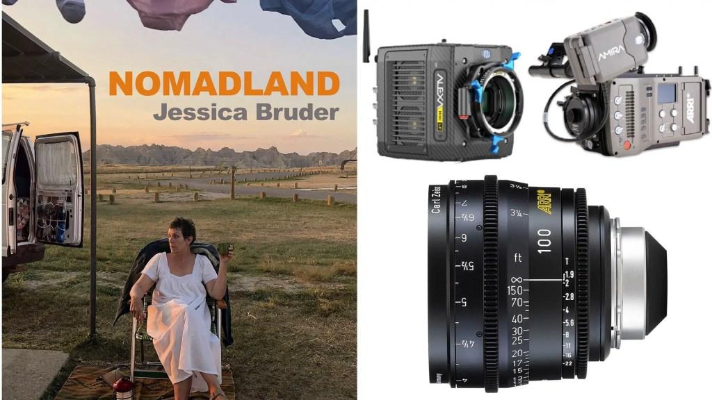 """Nomadland"" (Searchlight Pictures): DP Joshua James Richards. Cameras: ARRI ALEXA Mini, AMIRA. Lenses: ARRI Ultra Prime"