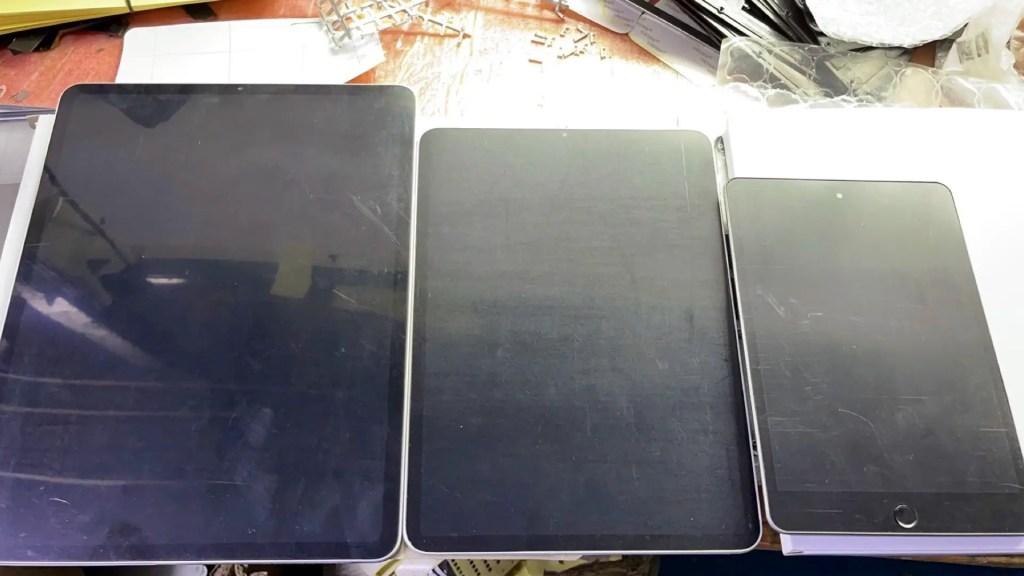 새로운 iPad.  사진 : Sonny Dickson