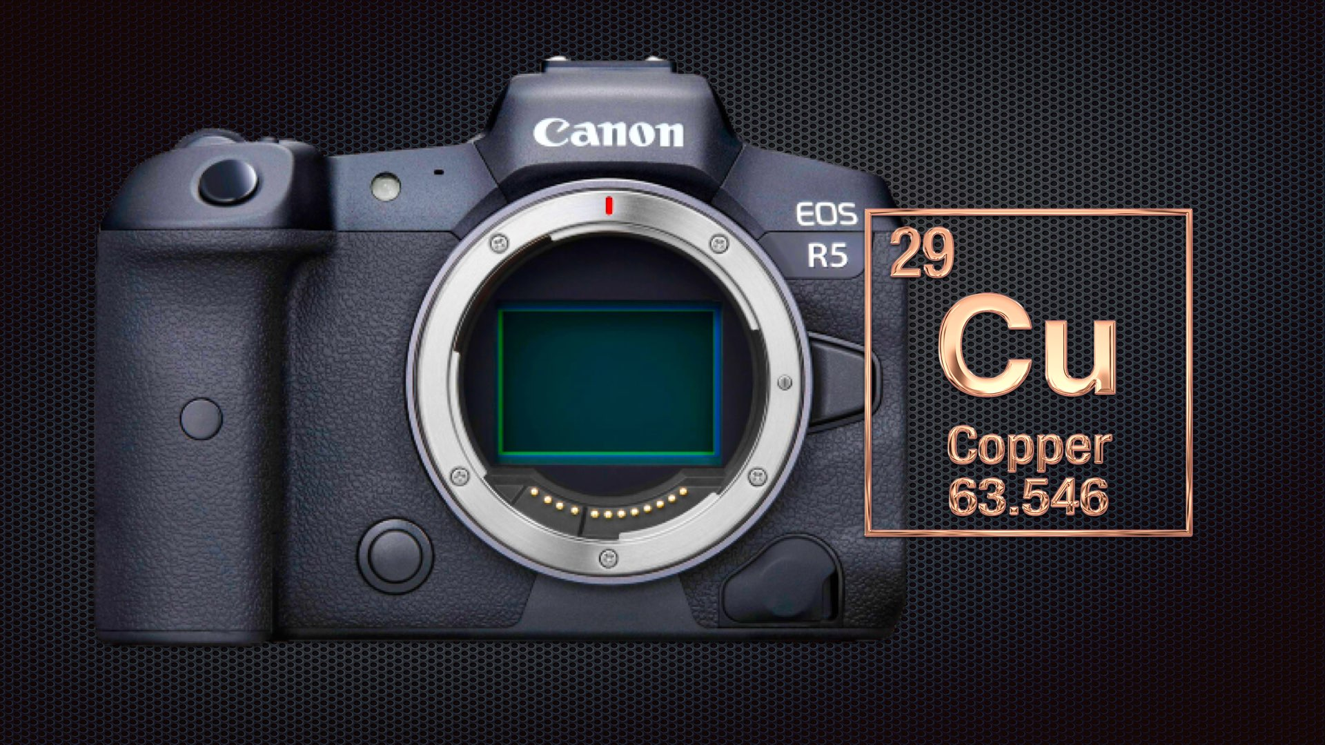 Canon EOS R5's Overheating Issues Solved by Installing Copper Plate