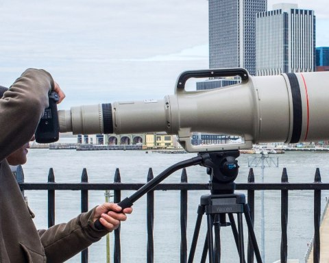 The World's Longest AF Lens is for Sale (Original price: $90,000): Meet the Canon EF 1200mm f/5.6 L USM. Picture by John Harris and Todd Vorenkamp
