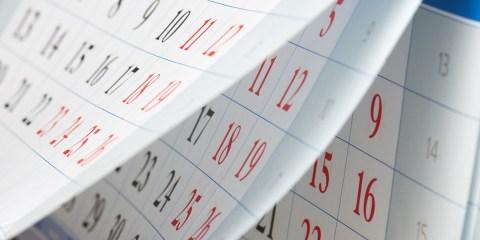 カレンダー作成