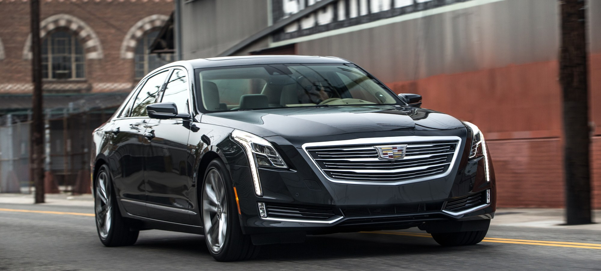 hight resolution of cadillac ct6 to be launched