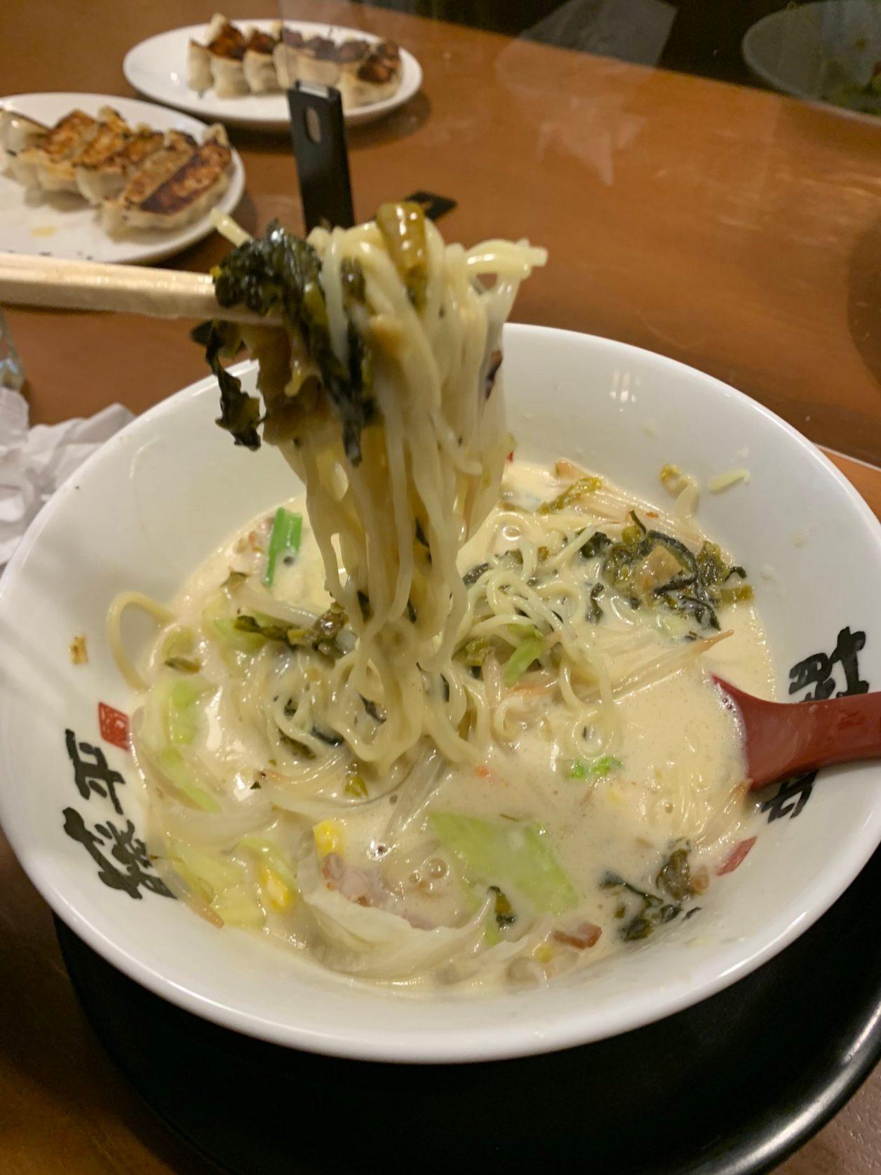100%藤平12月限定白雪の麺!