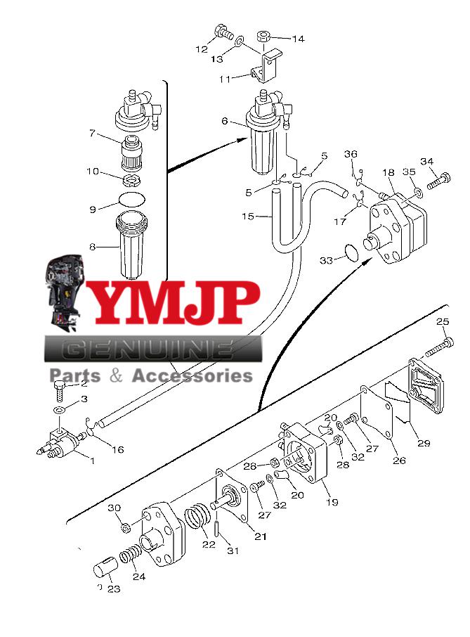 62Y-24410-03 62Y-24410-04 62Y-24410-04-00 fit for Yamaha