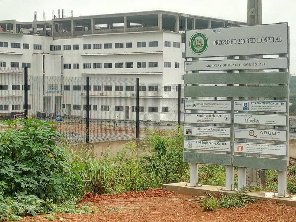 proposed 25o bed hospital