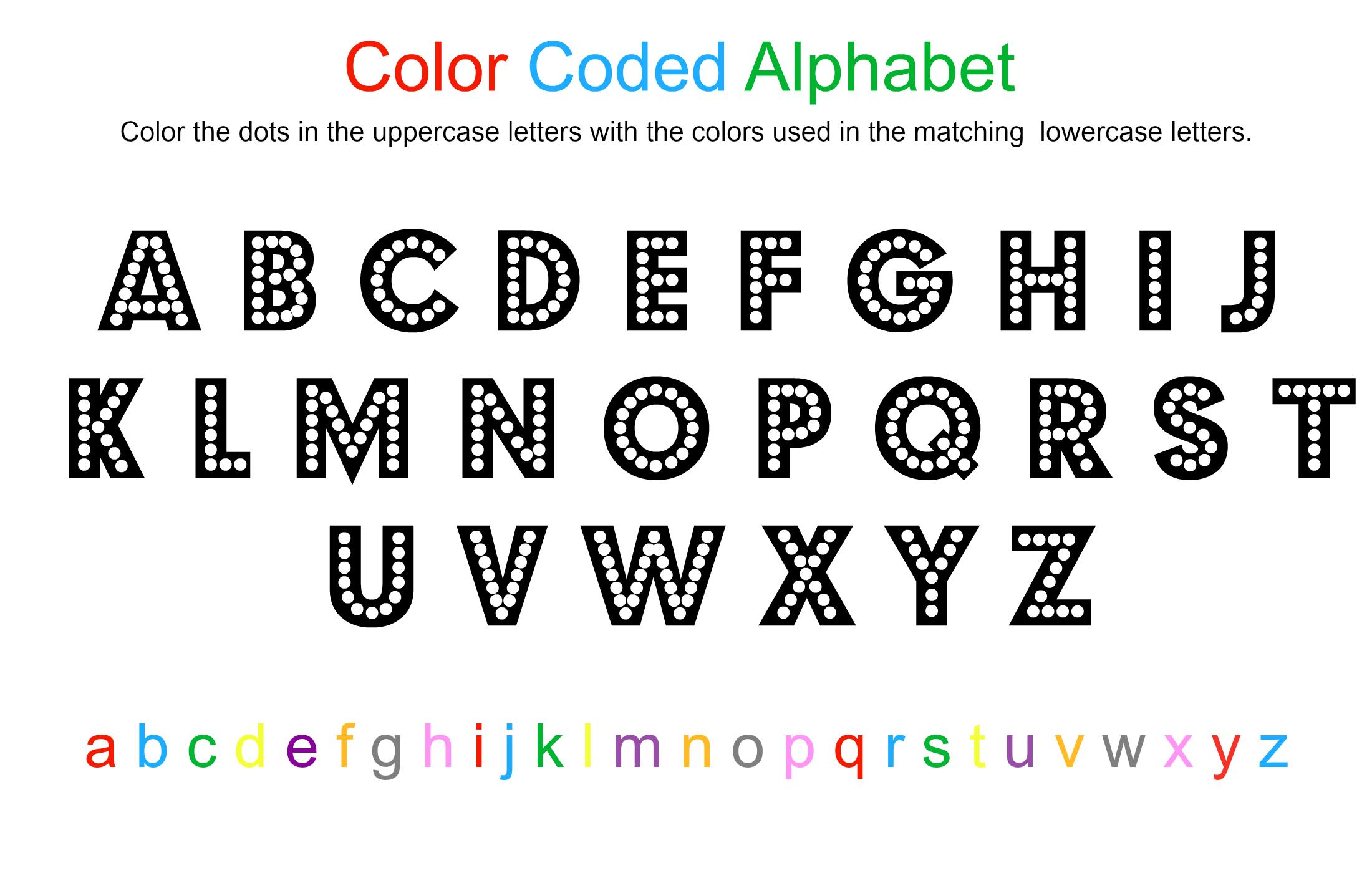 Alphabet Sheet Letter Worksheets