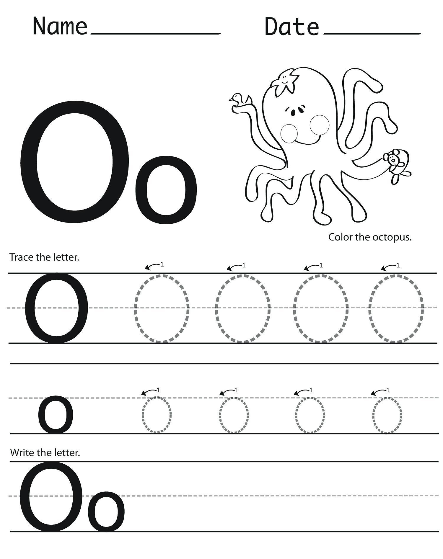 Letter U Tracing Worksheets Preschool Letter Worksheets