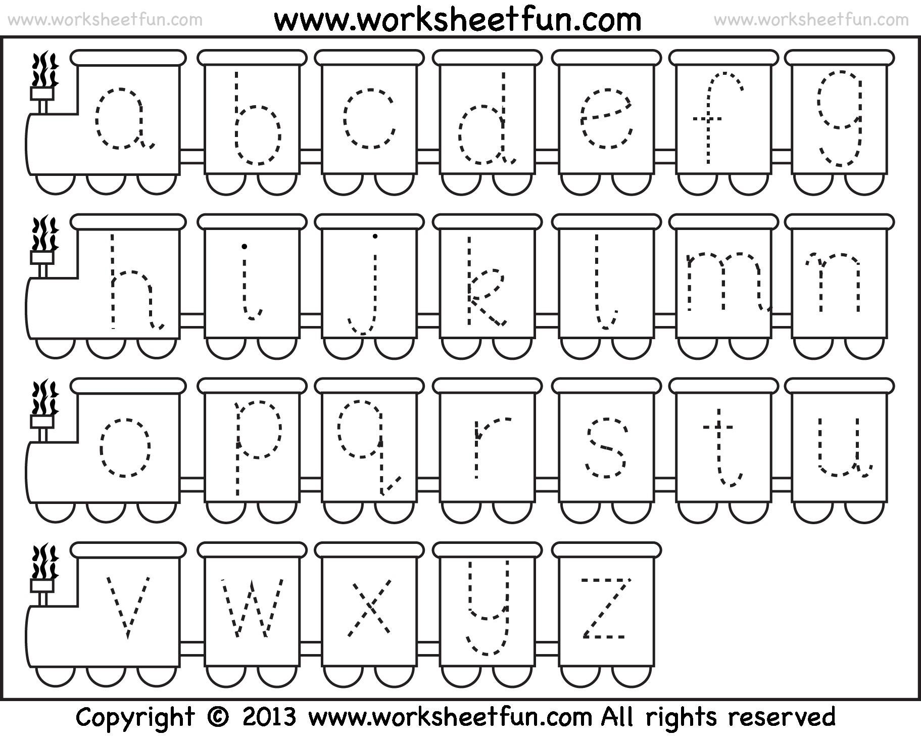 Abc Colouring Pages For Preschoolers Letter Worksheets